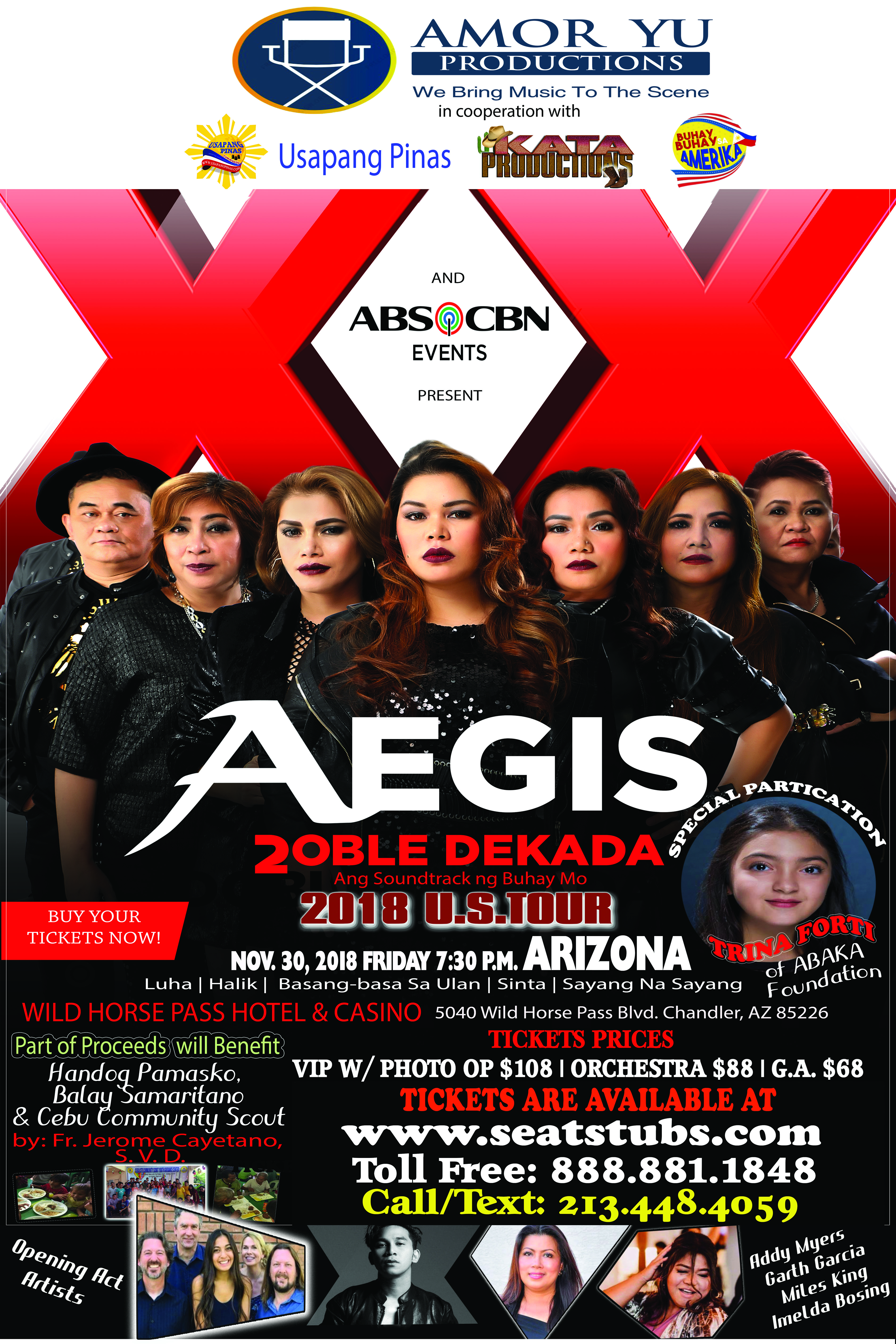 The Aegis Band Live In Chandler Arizon Nov. 30, 2018