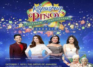 Kapusong Pinoy… Paskuhan at Kantawanan sa Anaheim