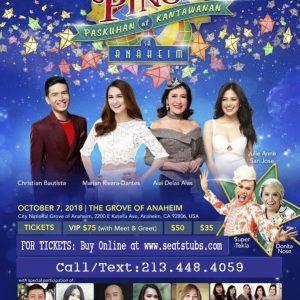 Kapusong Pinoy… Paskuhan at Kantawanan sa Anaheim Online Tickets
