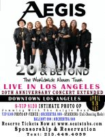 The Aegis Band Live In Los Angeles April 13, 2019