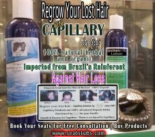 Regrow Your Lost Hair Naturally  with Organic Herbal Products